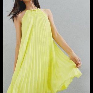 Ted Baker size 6-emelay mid green dress-NWT